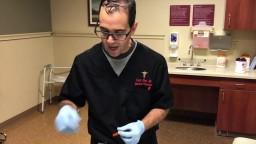 gum abscess drainage
