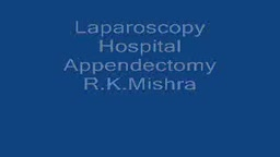 Laparoscopic Appendectomy Surgical Video