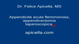 Appendectomy Operation Video