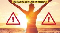 How to Shape Your Saggy Breasts Naturally
