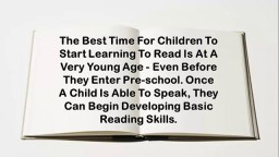 How To Help Your Child Learn To Read, Help My Child Learn To Read, Best Way To Teach Reading