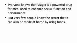 How to make Natural Viagra at home