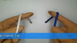 One Hand Tie