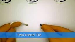 Two Hands Tie