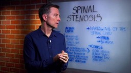 What is the Spinal Stenosis?