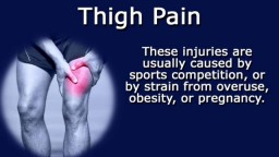 Thigh Pain Causes And Their Symptoms