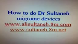 HOW TO DO MIGRAINE DEVICE