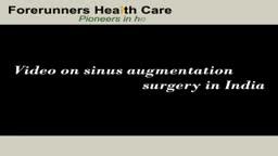 Sinus augmentation surgery in India by experienced maxillofacial surgeons of Delhi and Mumbai
