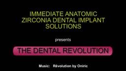 LIVE VIDEO:  IMMEDIATE ANATOMIC CERAMIC IMPLANT IN 3 MINUTES!