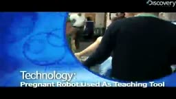 Pregnant Robot Trains Students  From Dr. Osama kloub