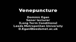 Venepuncture Tutorial HD Drawing Blood