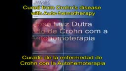Cured from Crohn's disease with Auto-hemotherapy