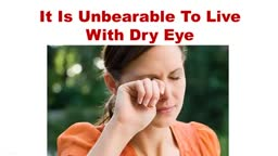 How To Treat Dry Eyes