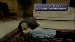 Unresponsive Airway Obstruction