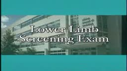 Loyola Lower Limb Exam
