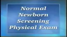 Loyola Neonatal Exam Part 1