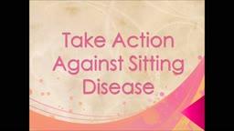 Take Action Against Sitting Disease