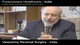 Vasectomy reversal surgery in India: get kids again.