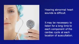 Normal and Abnormal Heart Sounds