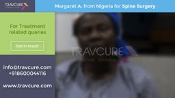 Margaret From Nigeria: Spine Surgery In Nagpur, India