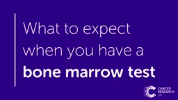 What to expect when you have a bone marrow test