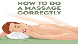 How to make a perfect massage