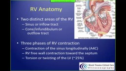 Right ventricular dysfunction