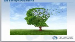 Dementia Signs and Symptoms